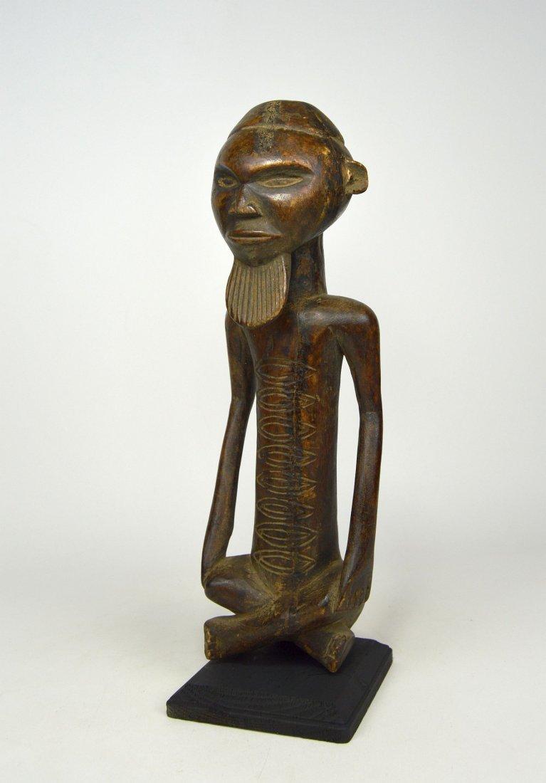 A Handsome Vintage Kongo male sculpture - 2