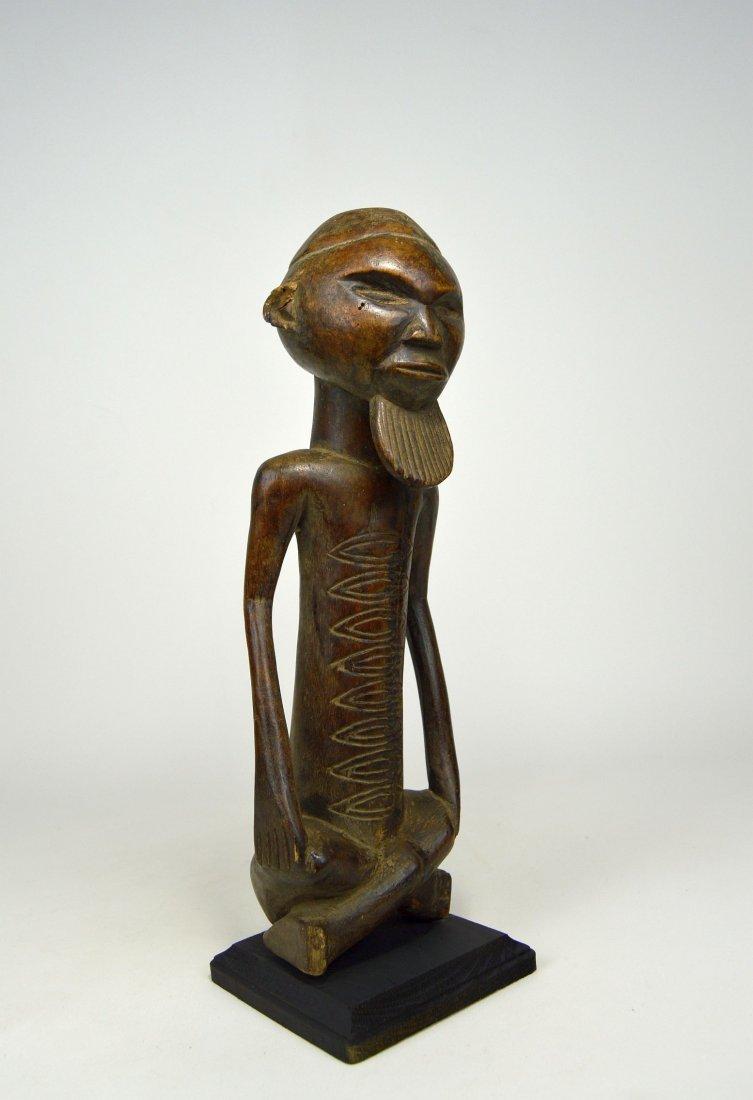 A Handsome Vintage Kongo male sculpture - 3