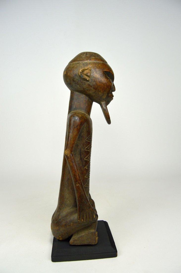 A Handsome Vintage Kongo male sculpture - 4