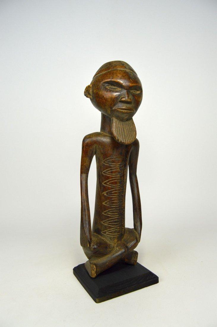 A Handsome Vintage Kongo male sculpture - 5