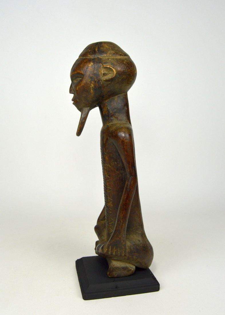 A Handsome Vintage Kongo male sculpture - 6