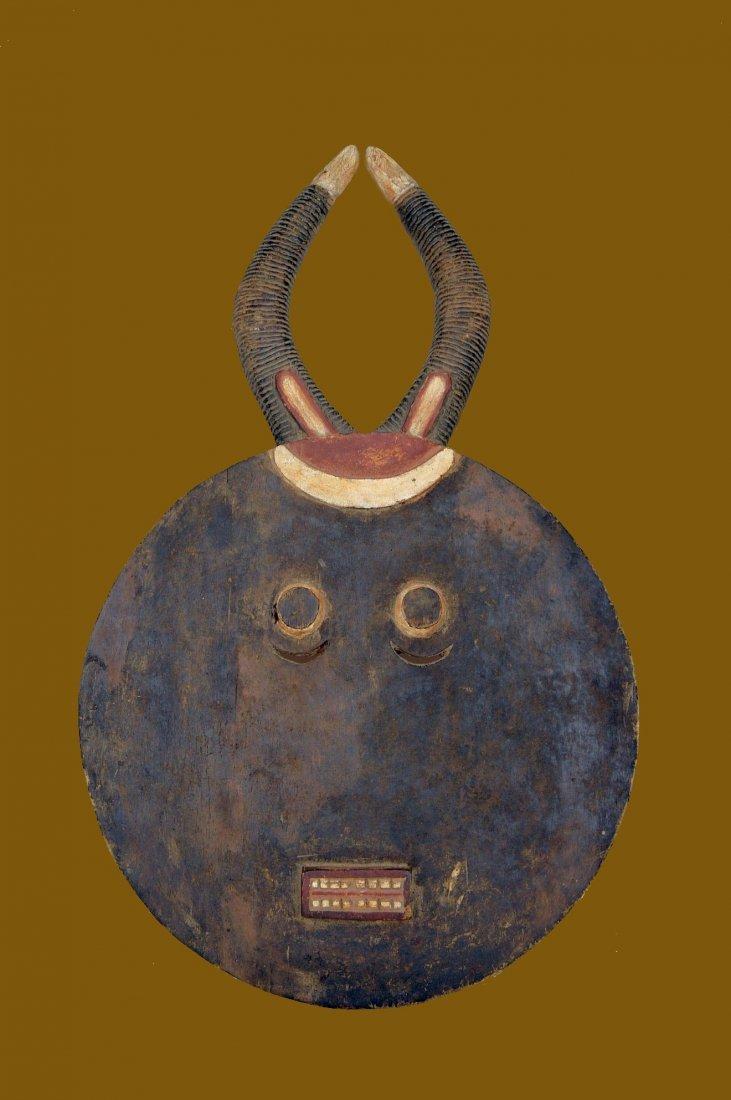A Large Baule Goli festival Mask, African Art
