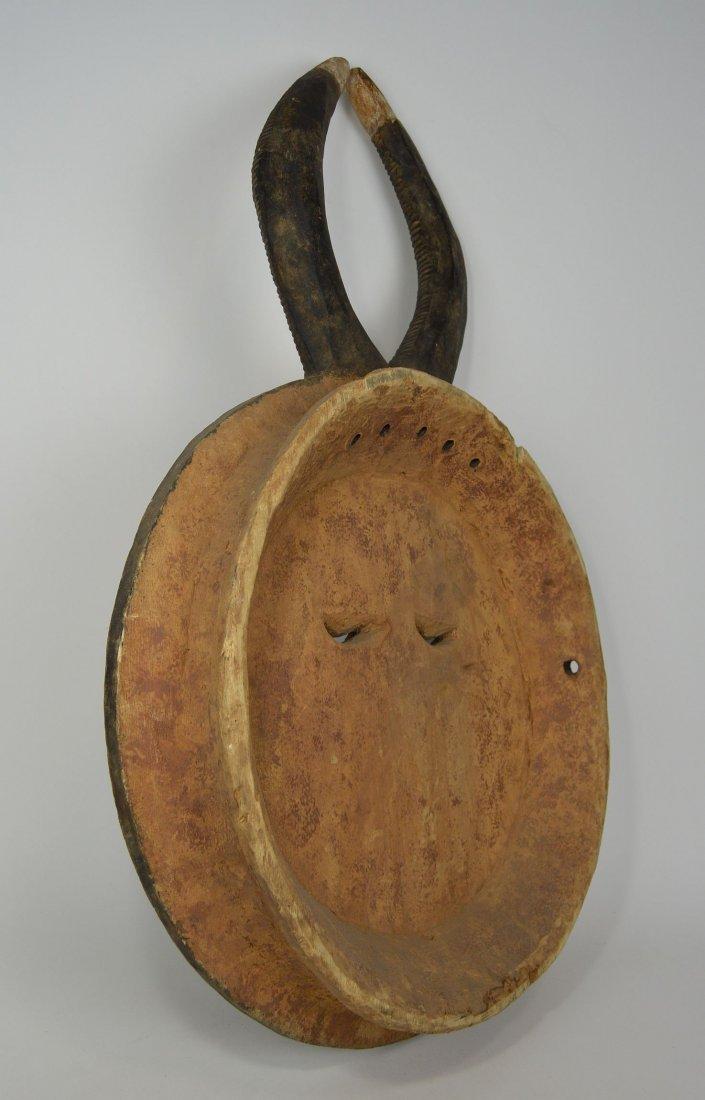 A Large Baule Goli festival Mask, African Art - 5