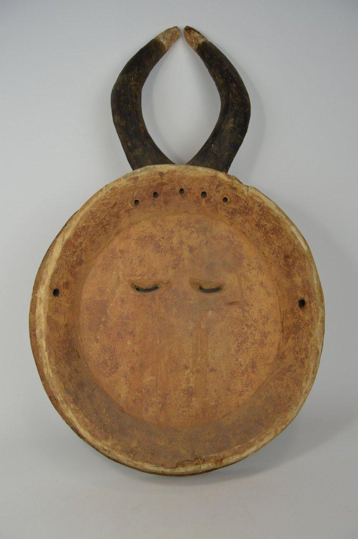 A Large Baule Goli festival Mask, African Art - 6