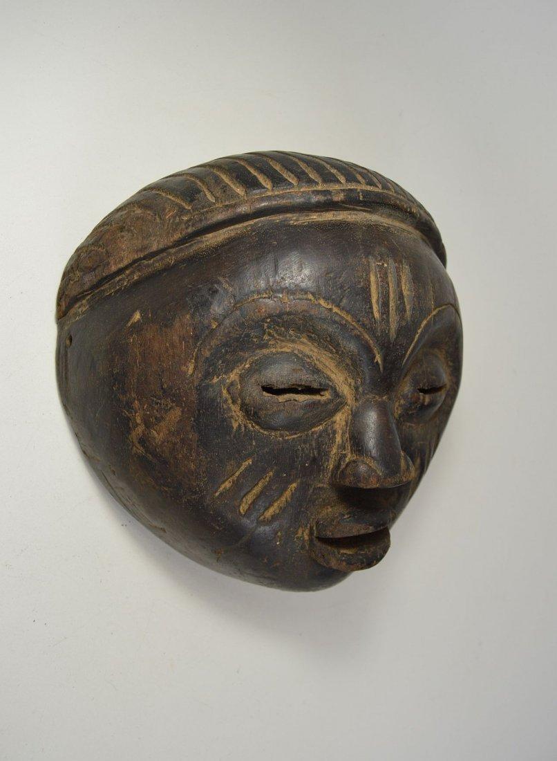 A Charming Lulua mask, African Art - 4