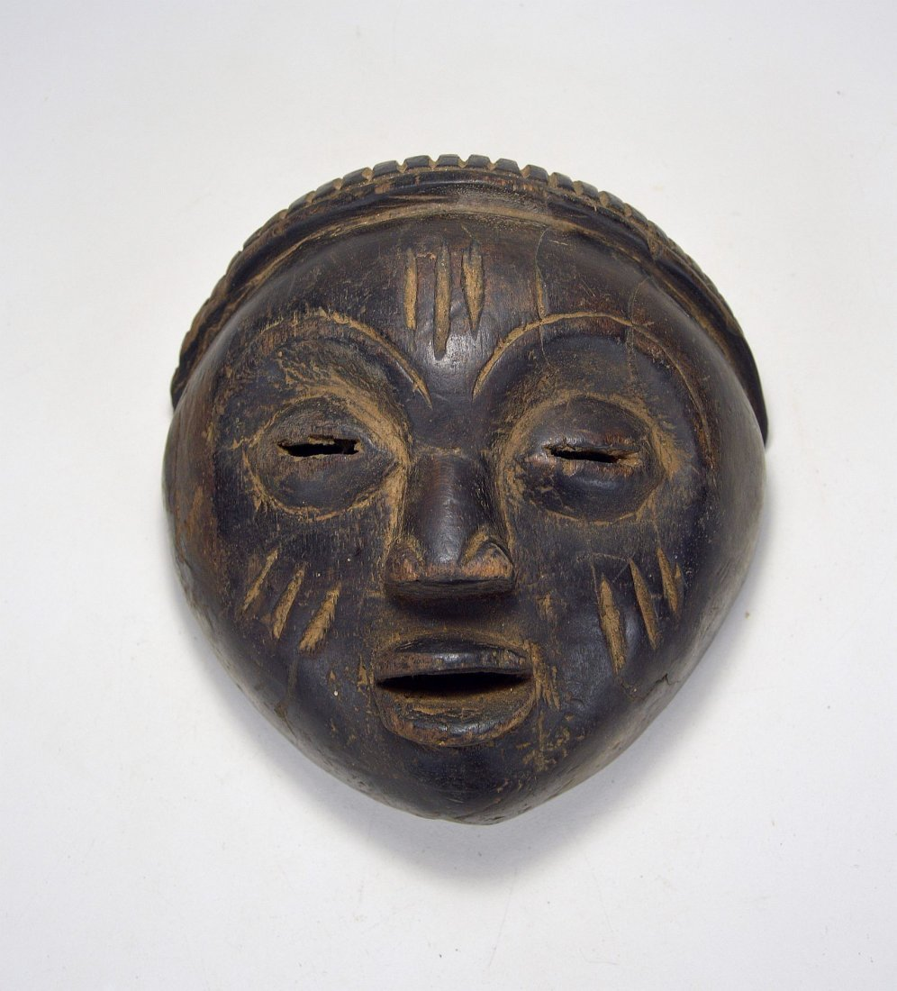 A Charming Lulua mask, African Art - 5