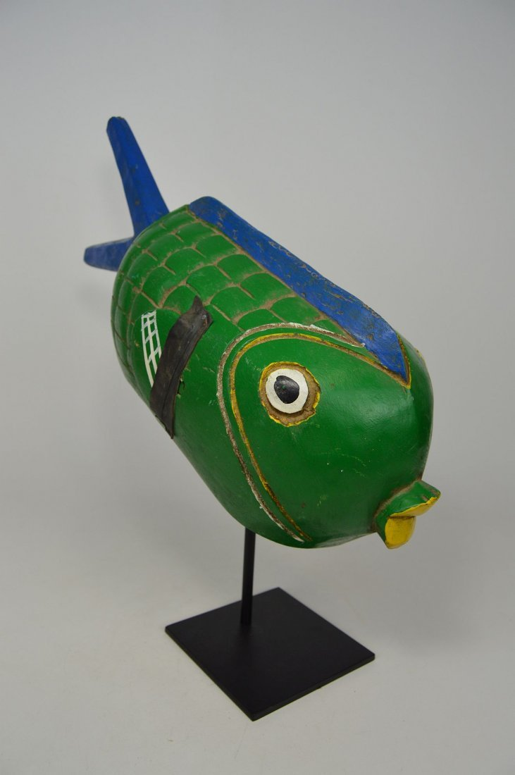 A Charming Bozo Fish mask, African Art