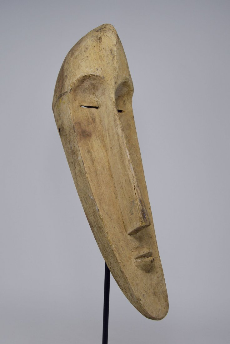 A Highly Stylized Fang mask, African Art - 4