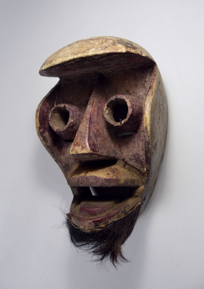 A Dan Kran Red face mask, African Art