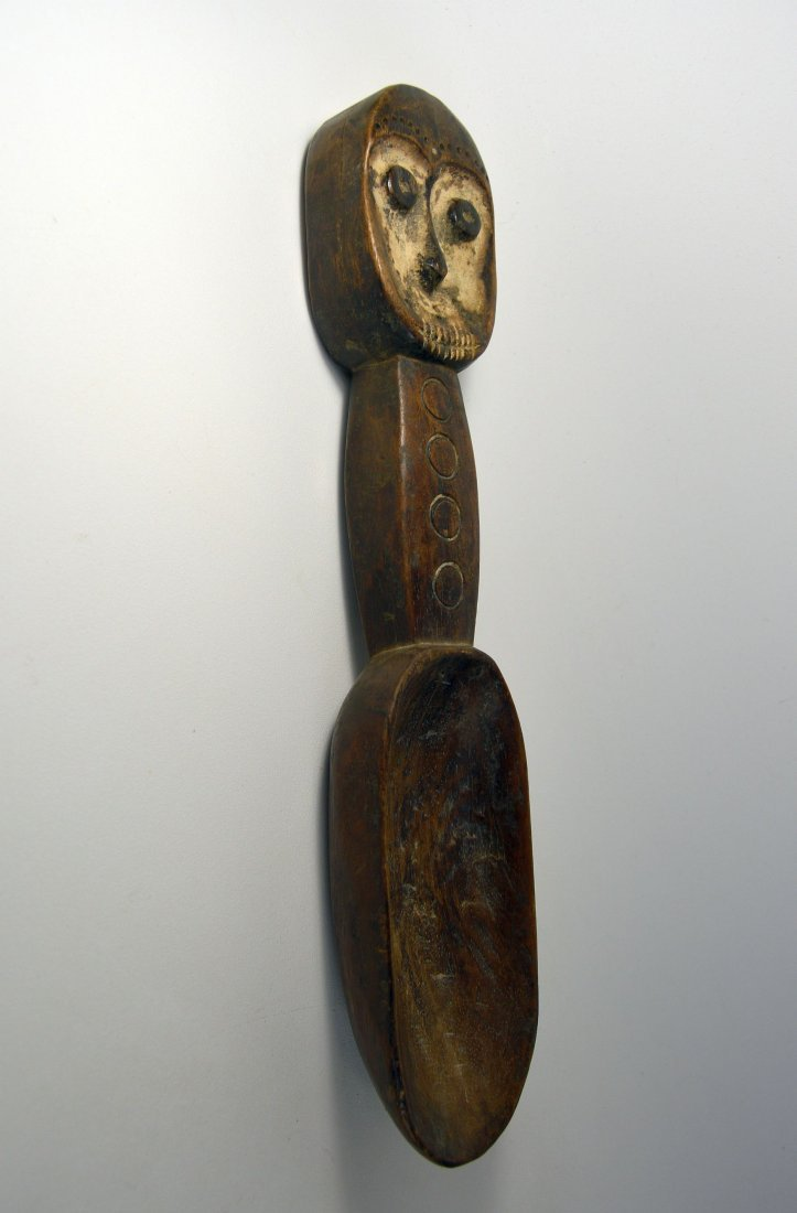 A Janus form Lega Ladle, African Art - 3
