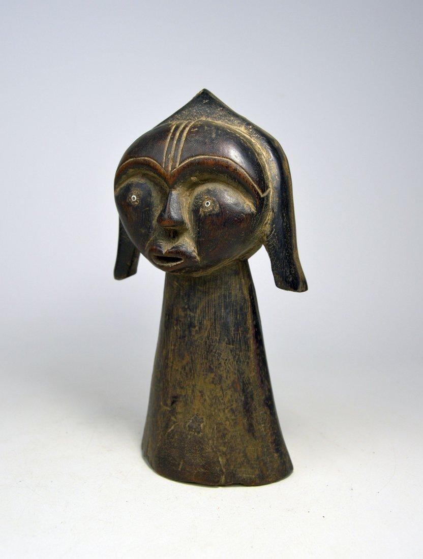 A Charming Fang Bust sculpture, African Art