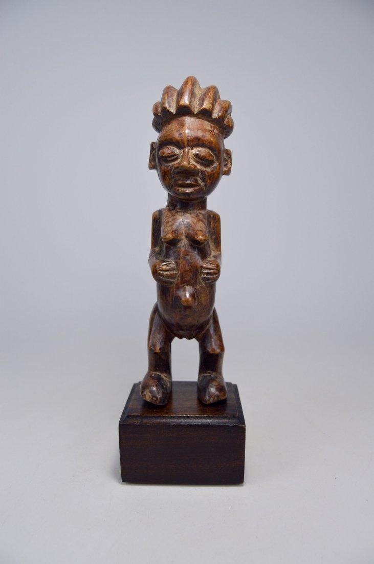 A Charming Yaka female sculpture, African Art - 2