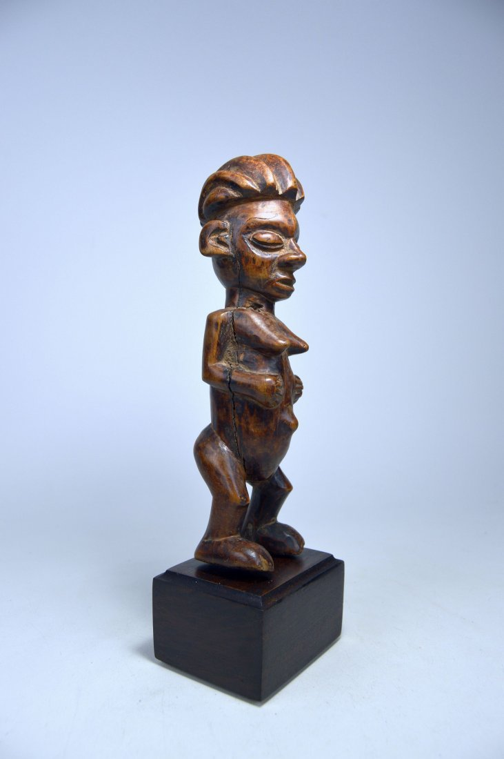 A Charming Yaka female sculpture, African Art - 3