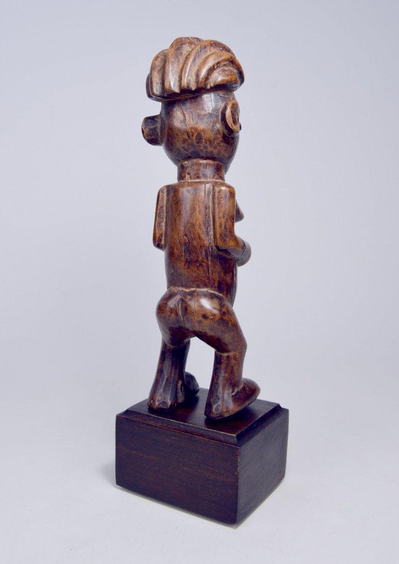 A Charming Yaka female sculpture, African Art - 4