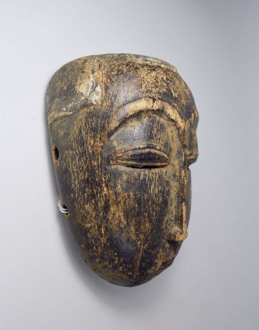 Eroded Old Baule Mask, Ex Bordogna Collection - 3