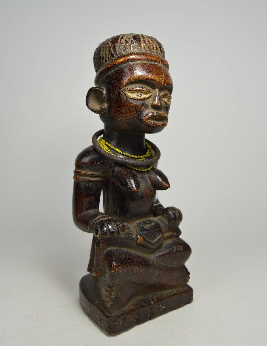 A Kongo maternity sculpture, African Art - 2