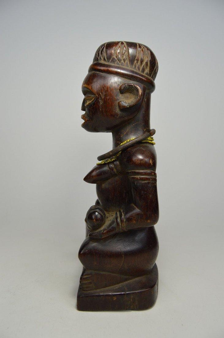 A Kongo maternity sculpture, African Art - 3