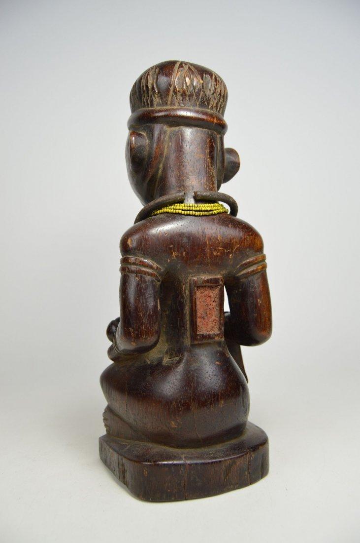 A Kongo maternity sculpture, African Art - 4