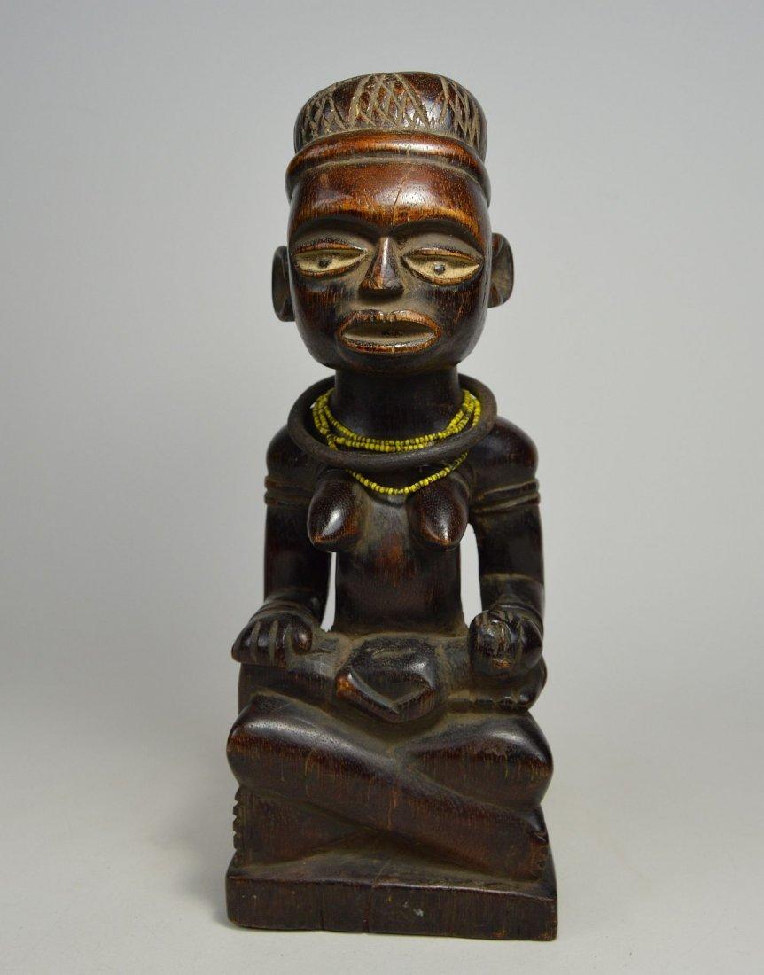A Kongo maternity sculpture, African Art - 5