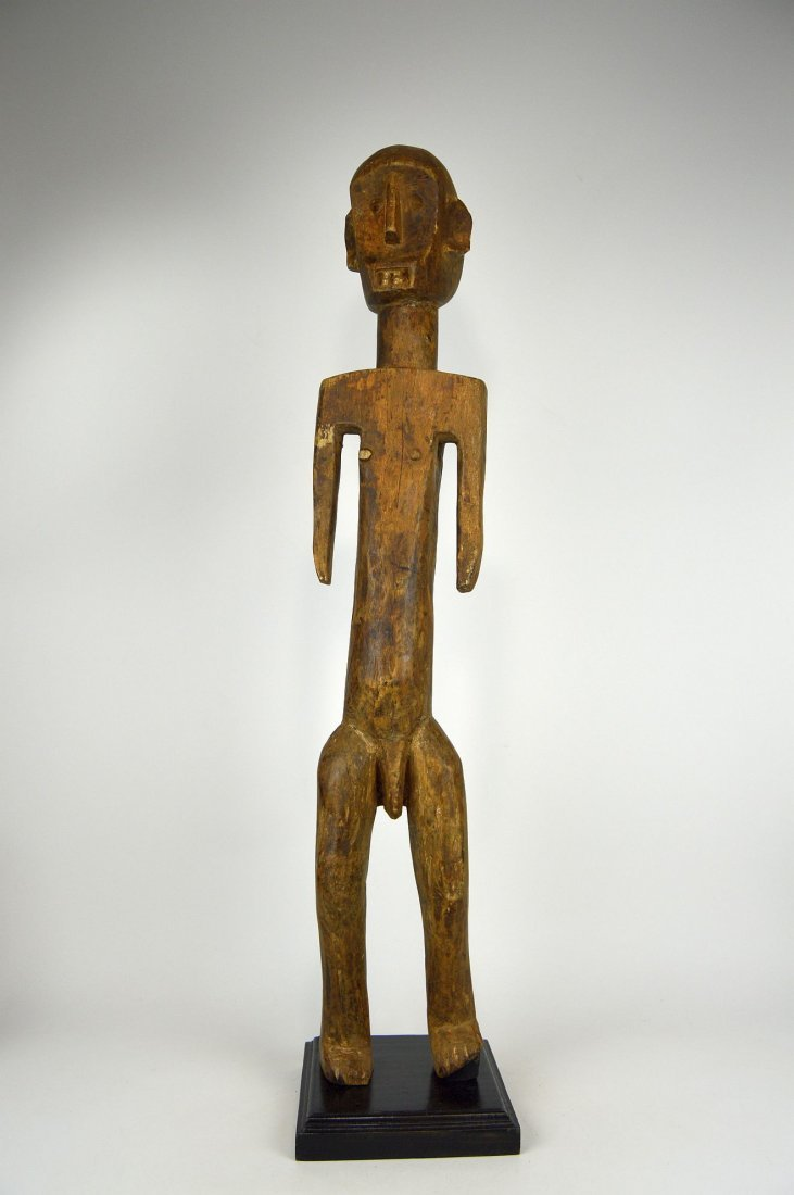 Tall Old Skeleton Like Sukuma Male Ancestor sculpture - 2