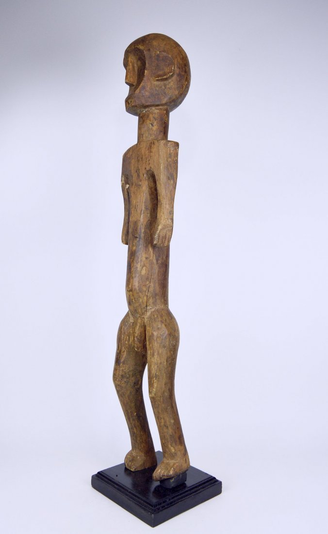 Tall Old Skeleton Like Sukuma Male Ancestor sculpture - 3