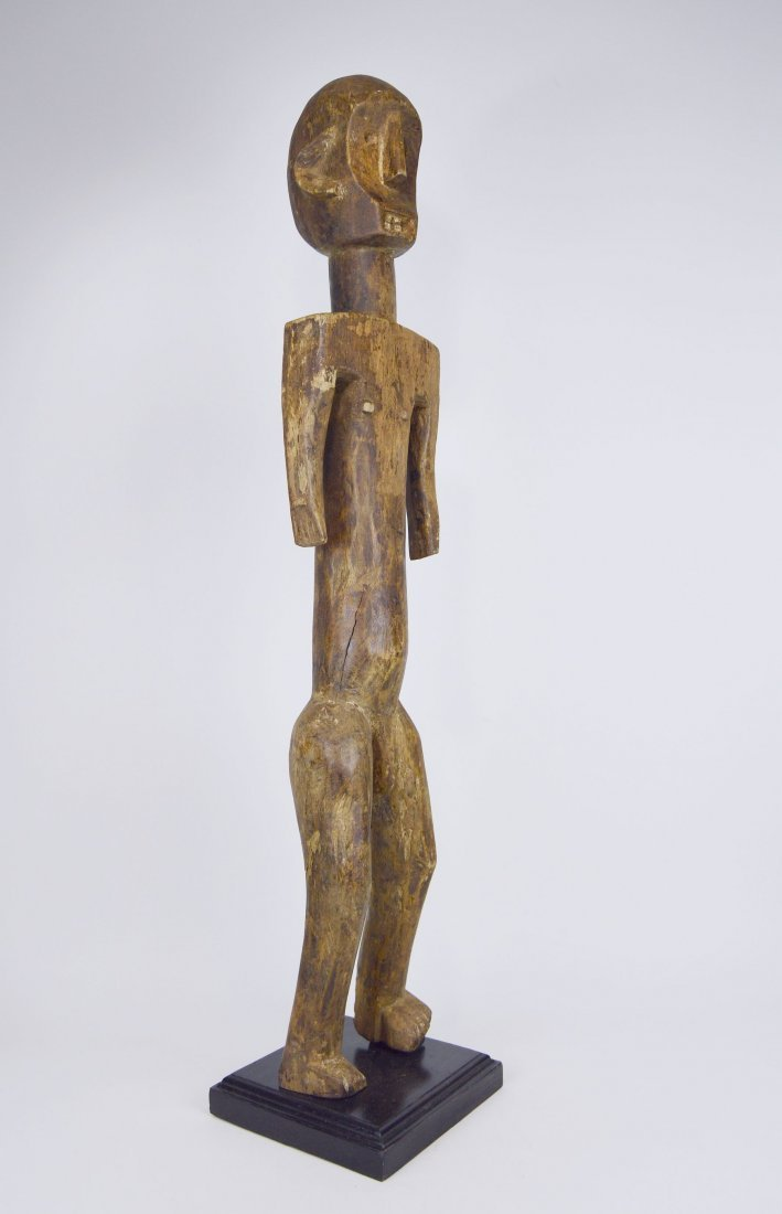 Tall Old Skeleton Like Sukuma Male Ancestor sculpture - 5