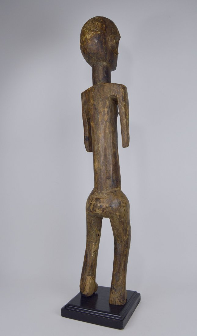 Tall Old Skeleton Like Sukuma Male Ancestor sculpture - 6