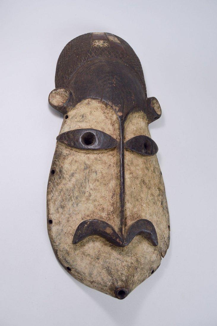 Wonderfully abstract Azande African mask