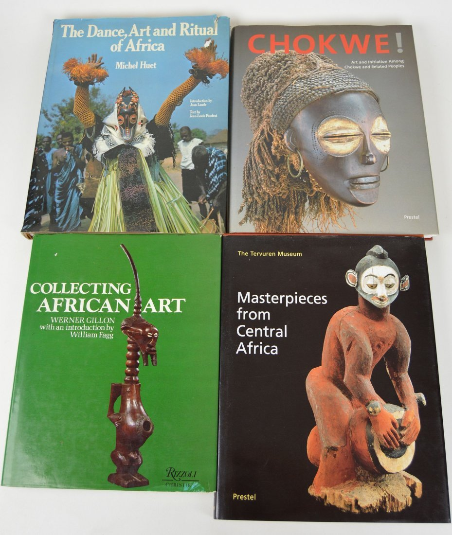 Lot of Four African Art Books 1