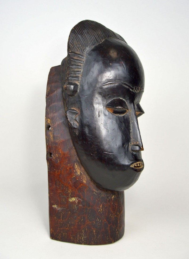 A Fine Baule Portrait Mask, African Art - 2