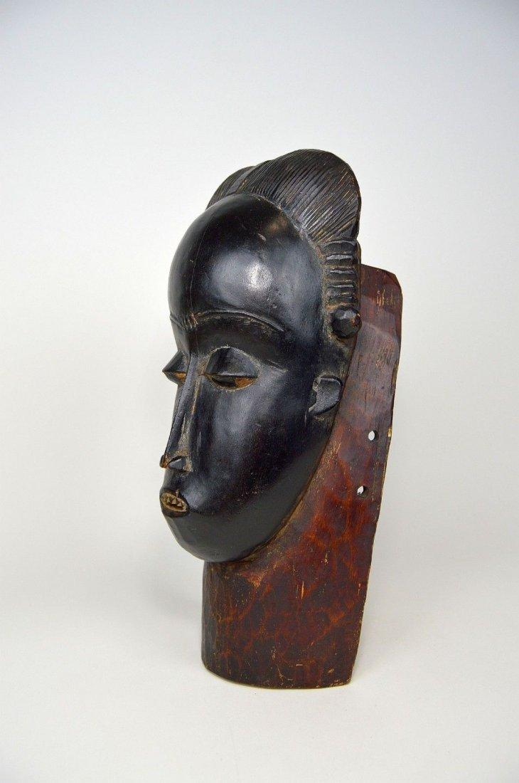 A Fine Baule Portrait Mask, African Art - 3