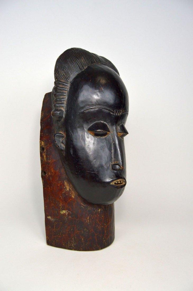 A Fine Baule Portrait Mask, African Art - 4