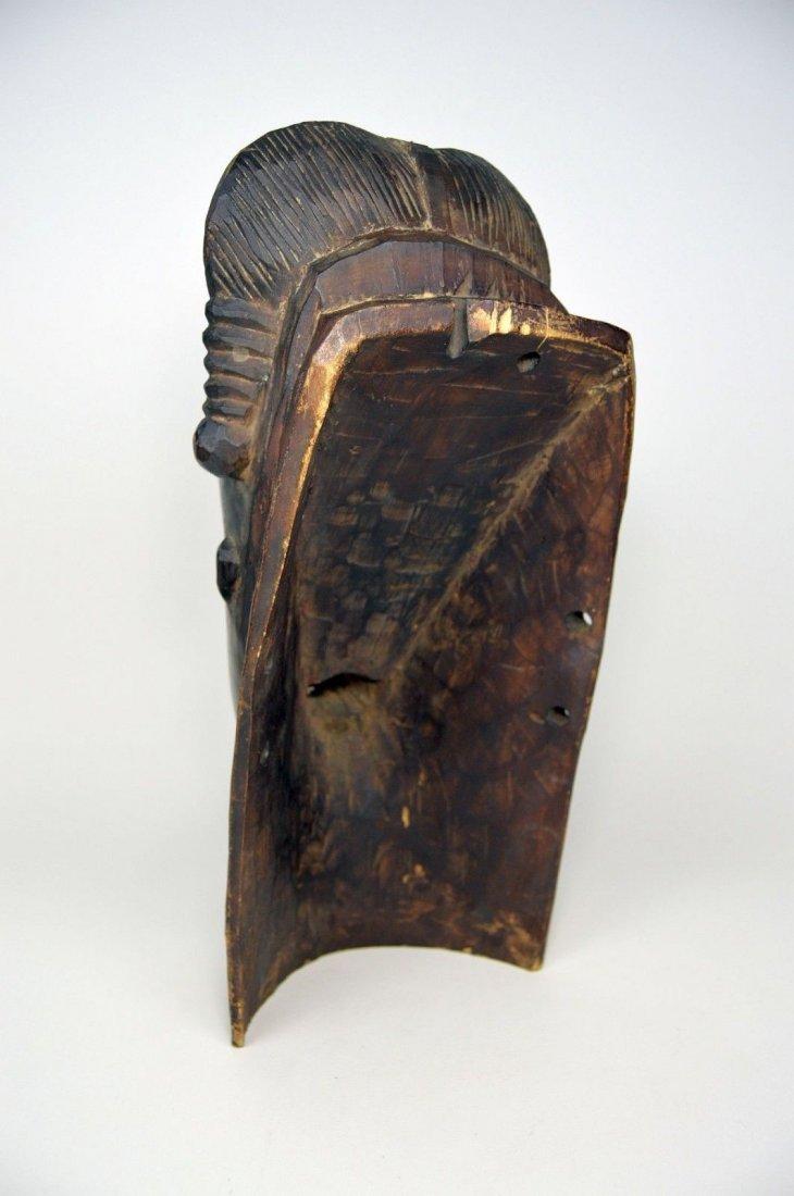 A Fine Baule Portrait Mask, African Art - 5