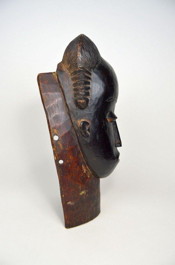 A Fine Baule Portrait Mask, African Art - 6