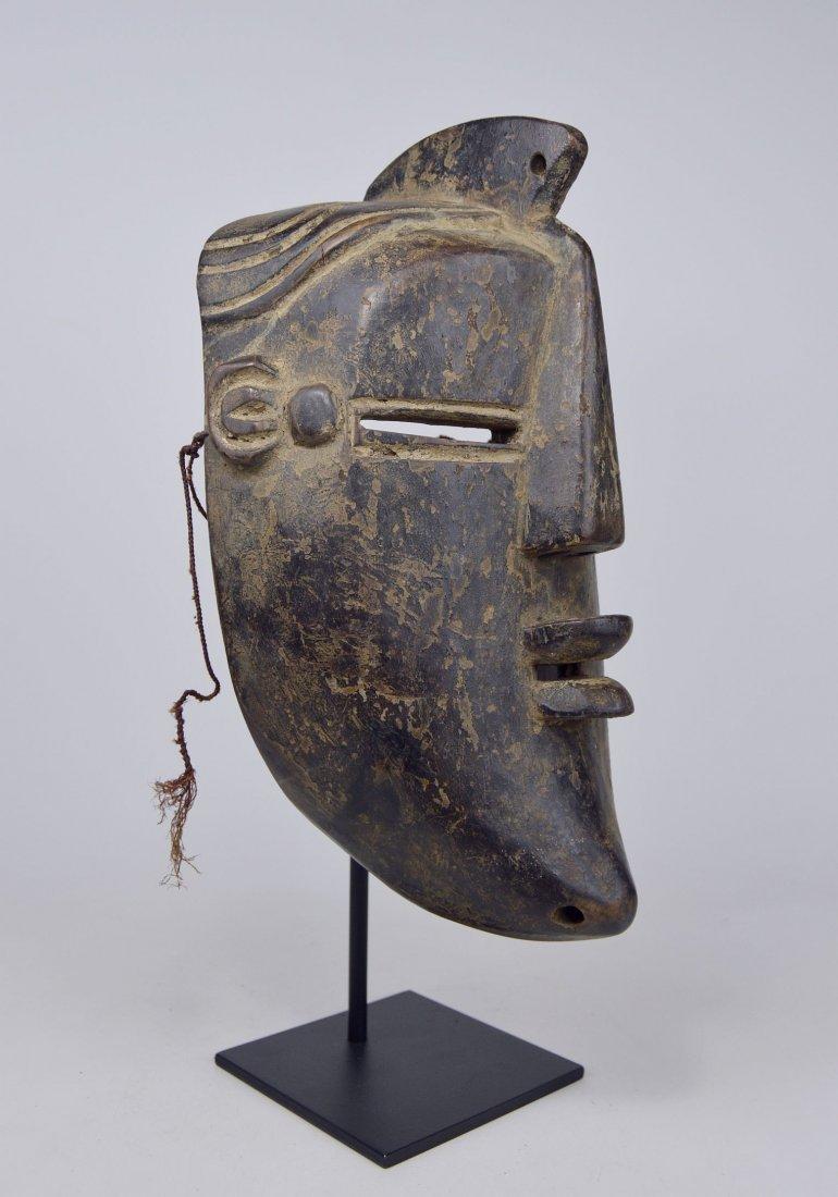 A Vintage Lulua African mask, African Art