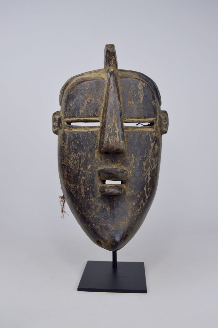 A Vintage Lulua African mask, African Art - 2