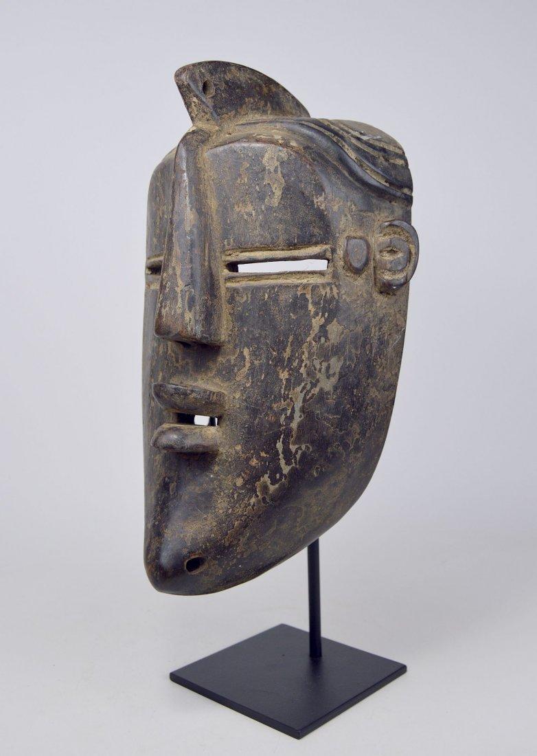 A Vintage Lulua African mask, African Art - 3