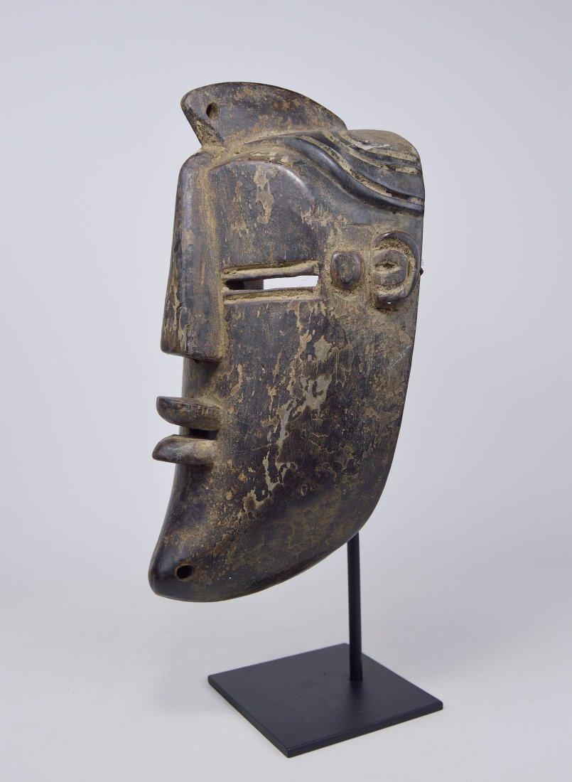 A Vintage Lulua African mask, African Art - 4