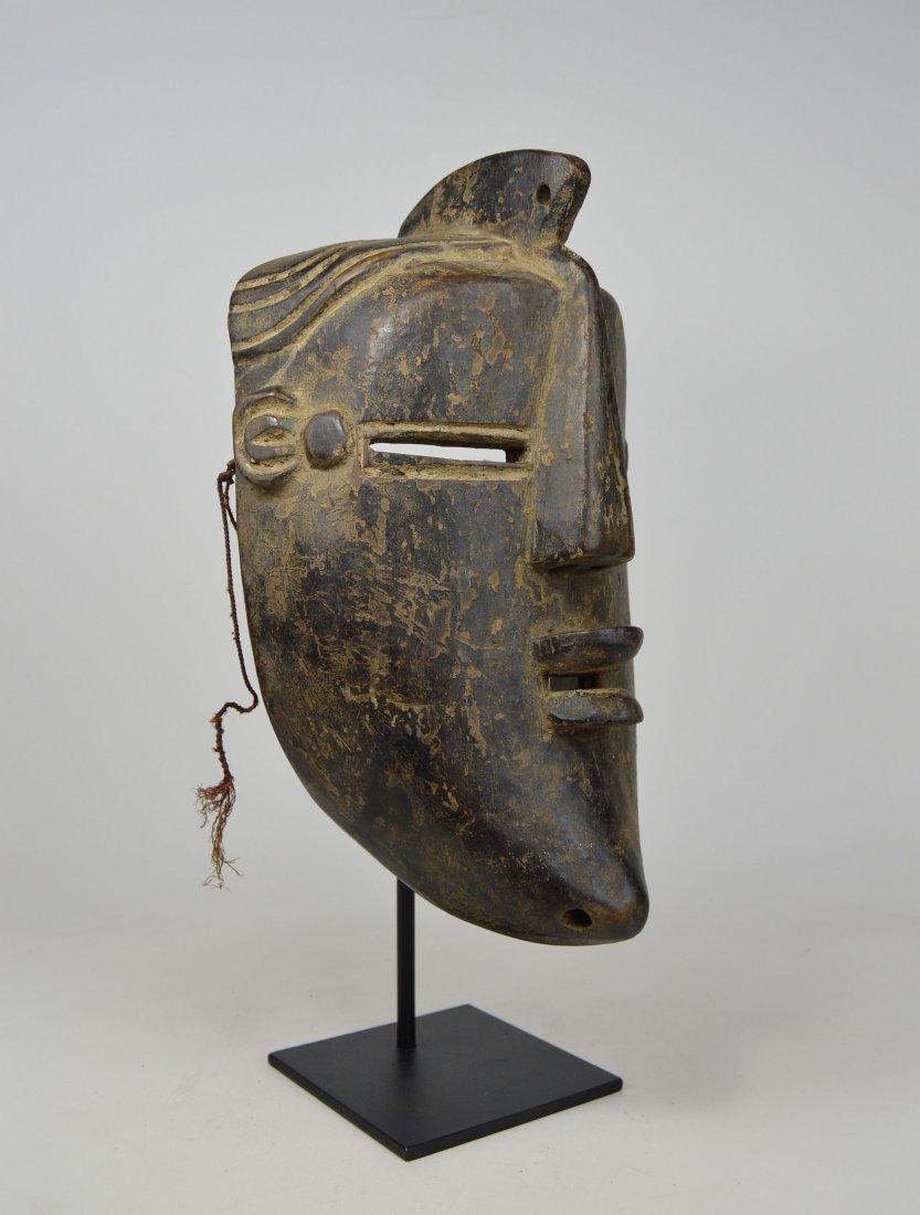 A Vintage Lulua African mask, African Art - 5