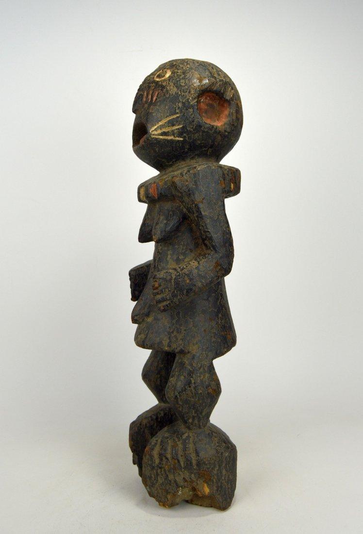 A Haunting Mambila Medicine idol, African Art - 2