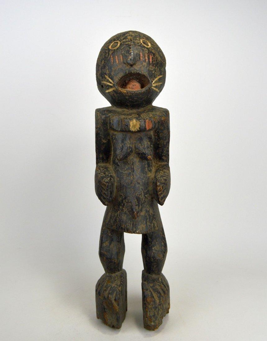 A Haunting Mambila Medicine idol, African Art - 3