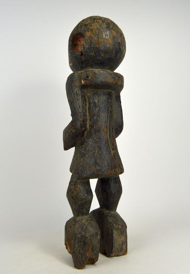 A Haunting Mambila Medicine idol, African Art - 4