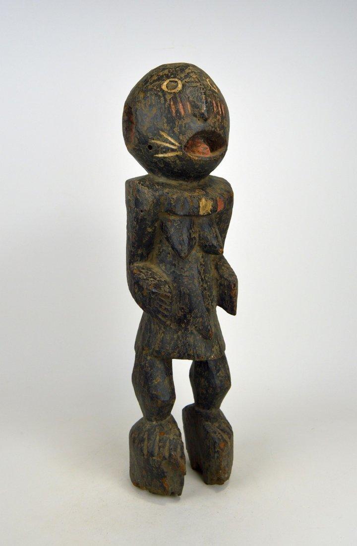 A Haunting Mambila Medicine idol, African Art - 7