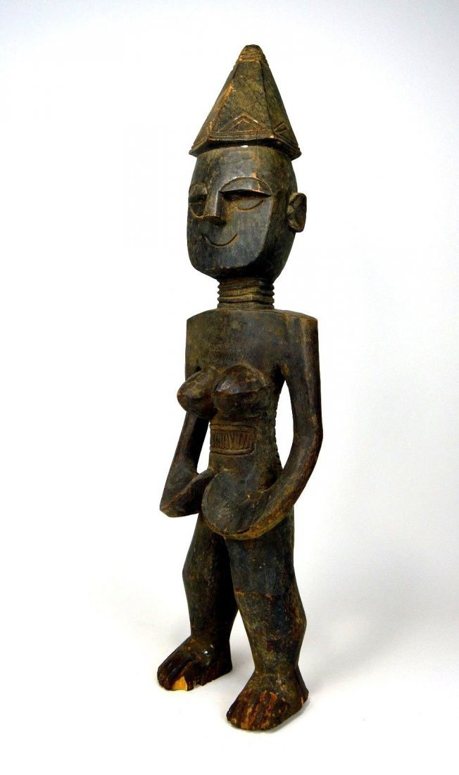 Rare Mende Female Ancestor sculpture, African Art