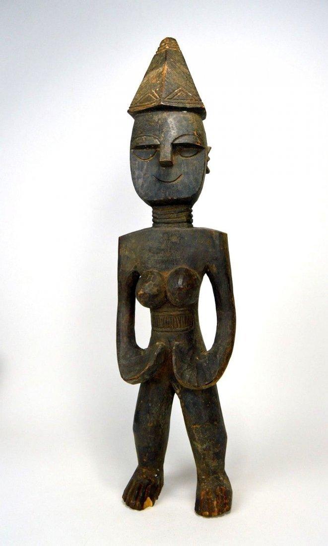 Rare Mende Female Ancestor sculpture, African Art - 2