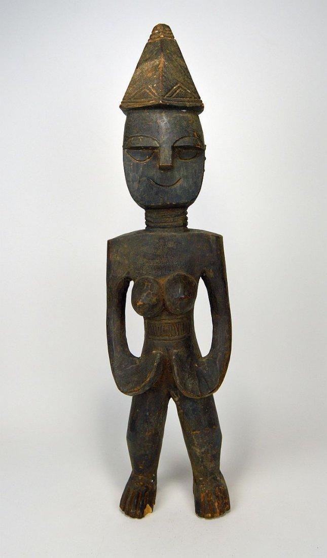 Rare Mende Female Ancestor sculpture, African Art - 3