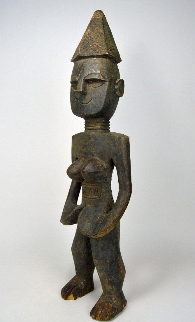 Rare Mende Female Ancestor sculpture, African Art - 4