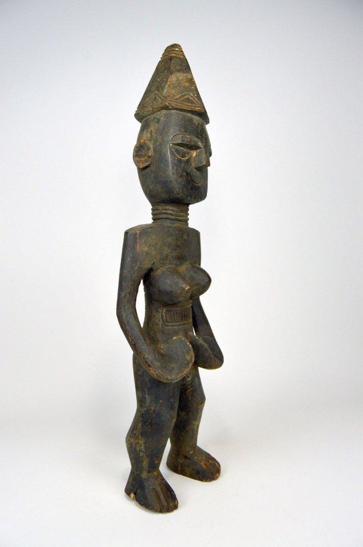 Rare Mende Female Ancestor sculpture, African Art - 5
