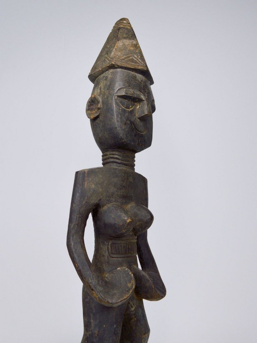 Rare Mende Female Ancestor sculpture, African Art - 6