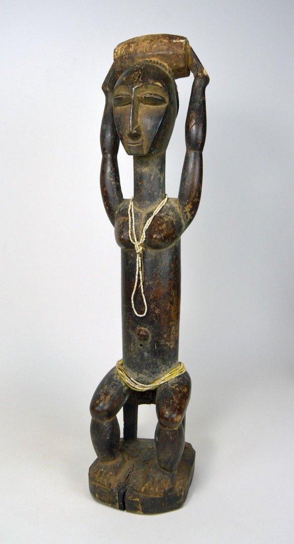 Lovely lady ~ Attie Female Shrine Figure, African Art